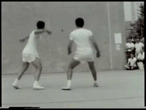1967 1 Wall Semi Final  Sandler v Carl Obert