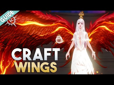 Revelation Online | How To Craft New Wings Mini Guide (3 Step)