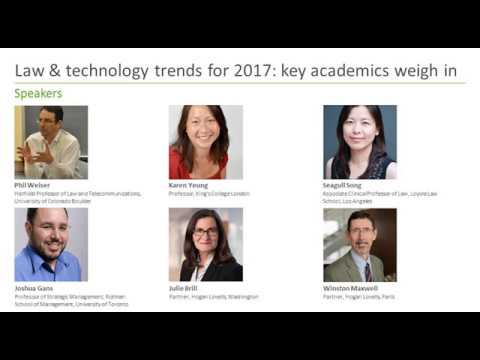 Law & Technology trends for 2017: key academics weigh in