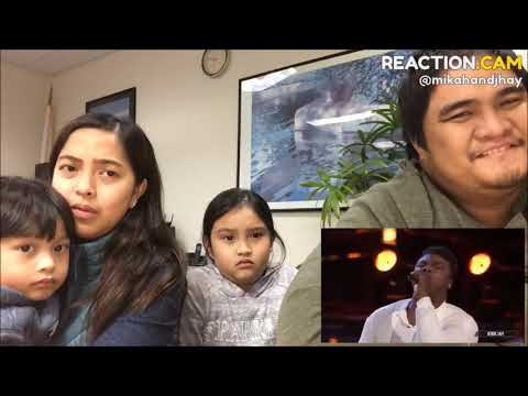 Family Reacts to Kirk Jay sings  I Swear The Voice Live Semi Final Top 8 Performances