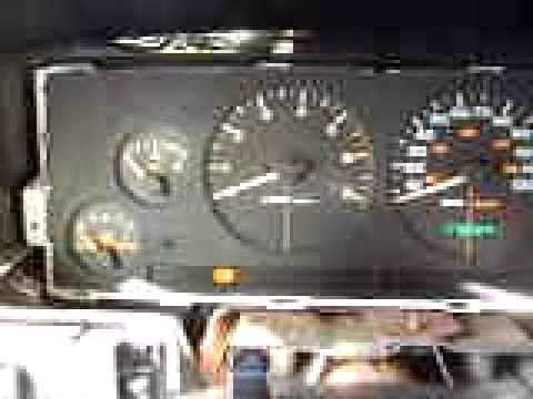 1998 jeep grand cherokee gauges not working