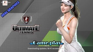 {Ultimate Tennis} Game Review 2018 GAMEPLAY.