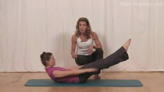 Pilates Hundred Explained and Demonstrated