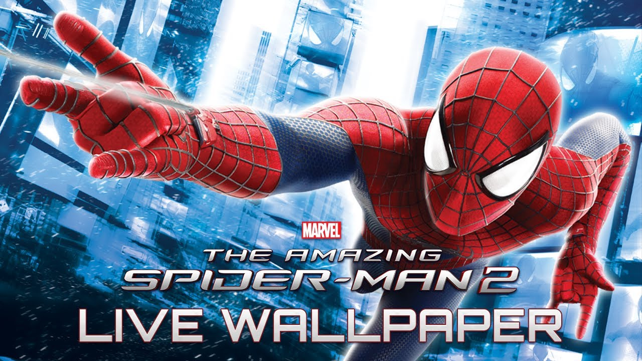 Spider Man 3d Live Wallpaper Pc The Amazing Spider Man 2 Live Wallpaper Youtube