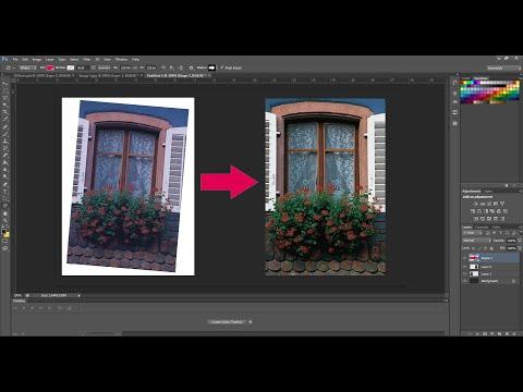 Cách xoay ảnh trong Photoshop
