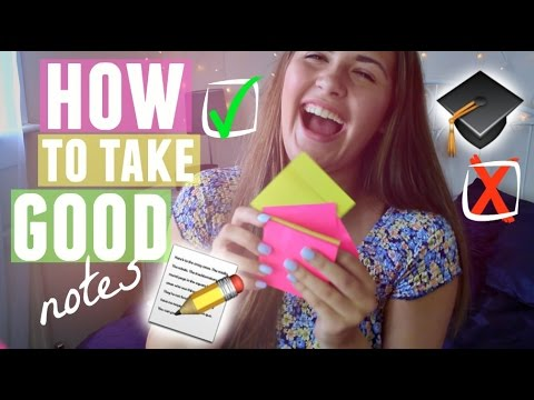 Download How To Take Good Notes (For School/Uni)