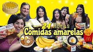 24 HORAS SÓ COMENDO COMIDAS AMARELAS!