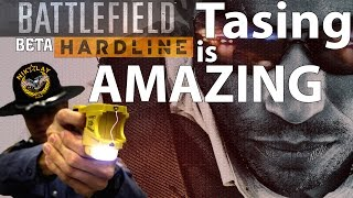 Battlefield Hardline Beta Using Taser Gun Dual Vision Gameplay By N&F 1080p HD