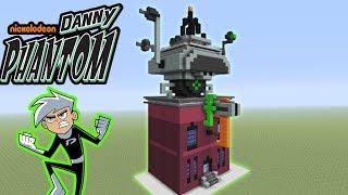 """Minecraft: How To Make Danny Phantoms House Fenton Works """"Danny Phantom"""""""