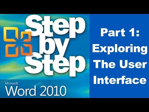 Exploring Microsoft Word 2010 User Interface - Part 1