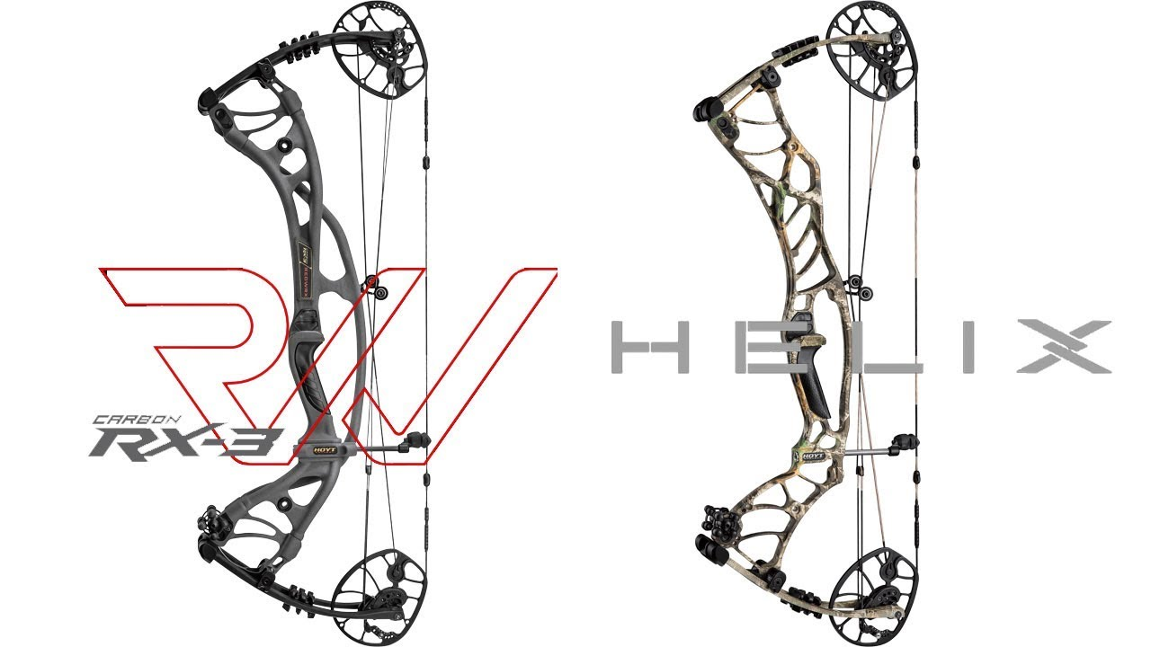 2019 Hoyt REDWRX Carbon RX-3 and Helix Preview