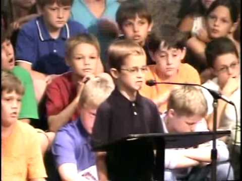 Seven-Year-Old Preaches Sermon on the Mount
