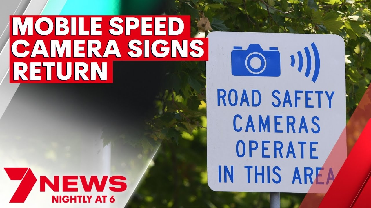 Download NSW State Government to install mobile speed camera signs | 7NEWS