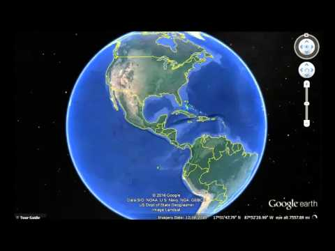 Antigua And Barbuda Google Earth View