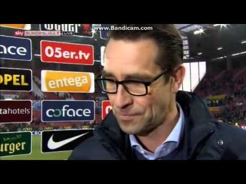 Mainz 05 vs Hertha BSC 0:2 (0:2) Michael Preetz bei Interview 2015