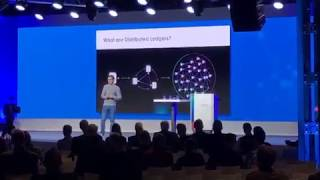 Dom Schiener on Iota and Supply Chain at BOSCH CONNECTED WORLD 2018