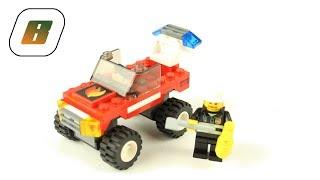 LEGO® - Speed Build - 7241 Fire Car  - review - speedbuild