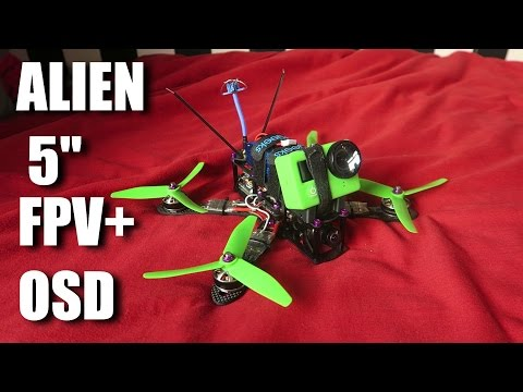 Build A Top Spec Race Quad With FPV + OSD - 동영상