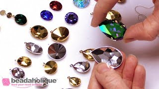 Show & Tell: Swarovski Crystal Fancy Stone Pendant Settings