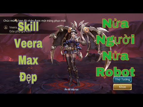 Veera goá phụ giả kim test skill max đẹp của veera