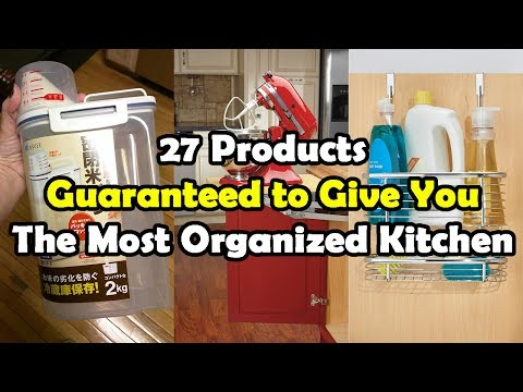 27 Products Guaranteed To Give You The Most Organized Kitchen