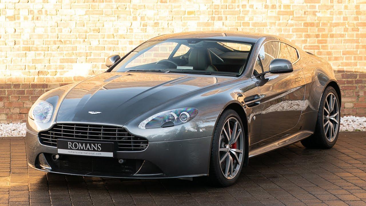 2017 Aston Martin V8 Vantage S Magnetic Silver Walkaround Interior Exhaust Sound Youtube