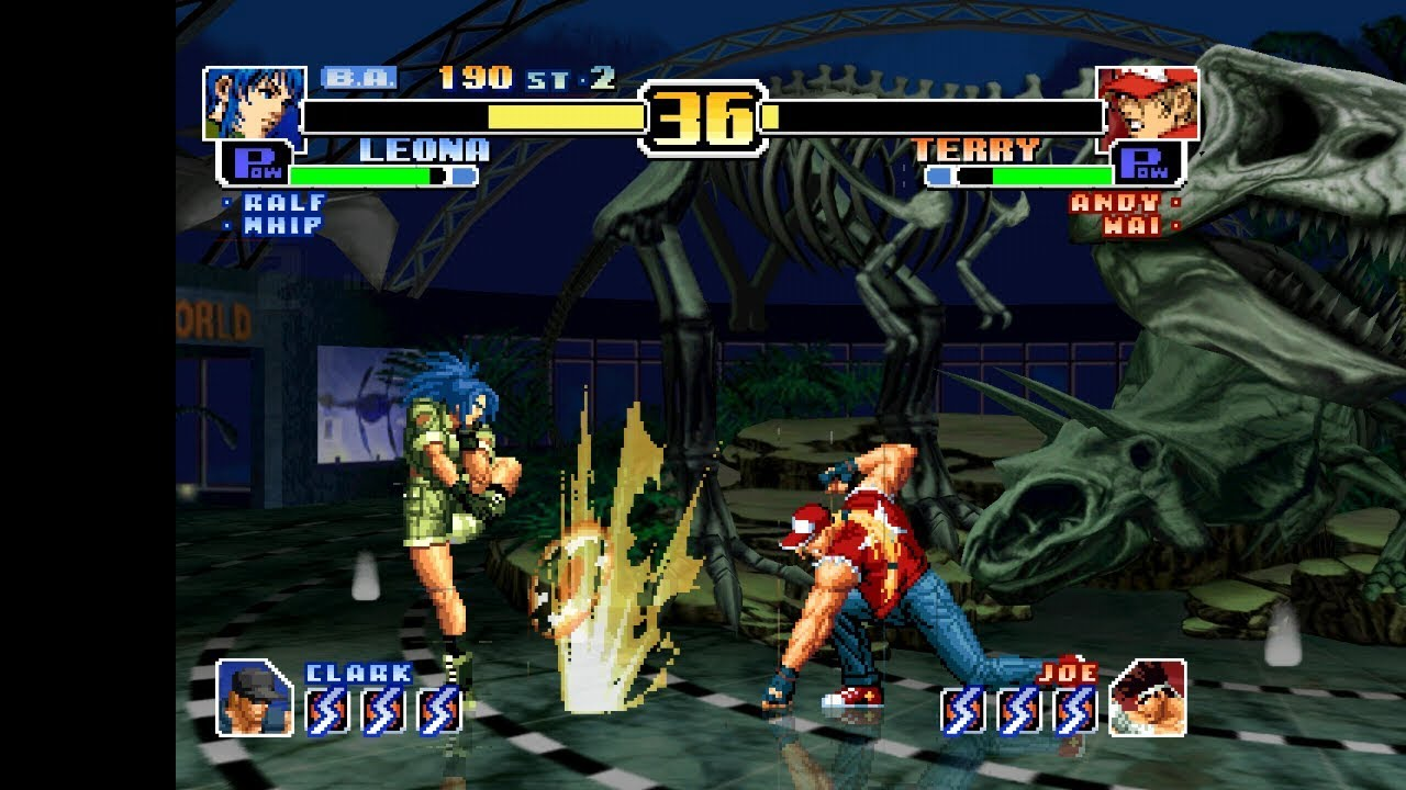 Android DreamCast Emulator ReiCast King of Fighters '99, The - Evolution  Game Play