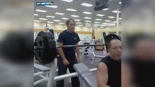 STUPID PEOPLE IN GYM FAIL COMPILATION  43 Funniest Workout Fails Ever