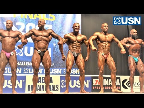 NABBA USN Britain Finals 2017 - Men 1