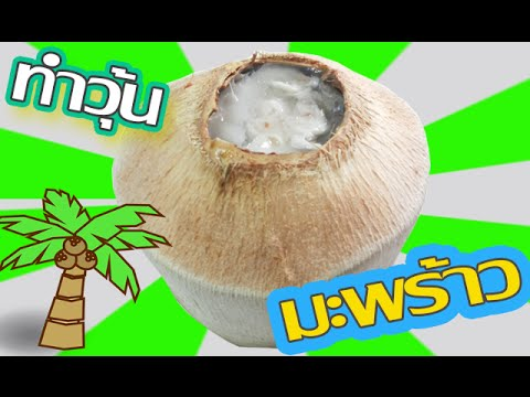 วิธีทำวุ้นมะพร้าว -  Coconut Jelly Recipe | วุ้นแฟนซี