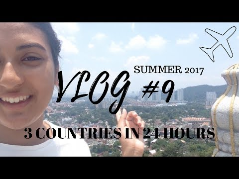 3 COUNTRIES IN 24 HOURS! - TRAVEL VLOG #9