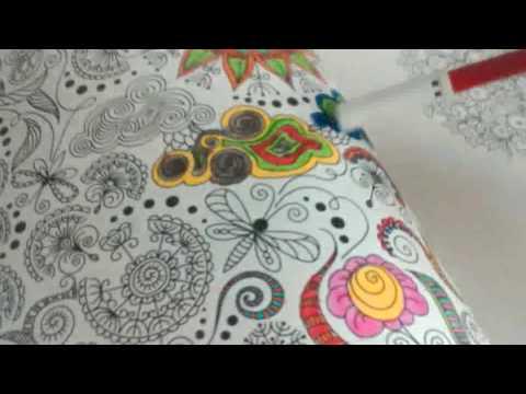 Bahar Ezgileri Boyama Kitabi Boyuyoruz Ressam Dünyası Youtube