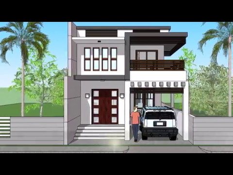 Copy Of Small Modern 2 Level House With Interior