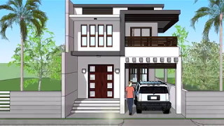 Copy of Small Modern 2 Level House with Interior Walkthrough