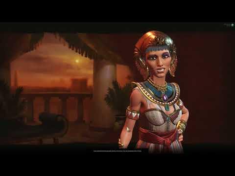 Civilization VI Nubia TSL Earth #1 Egypt settles too close!
