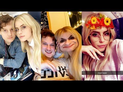 Carlson Young  MTVs Scream Reunion  Snapchat Videos