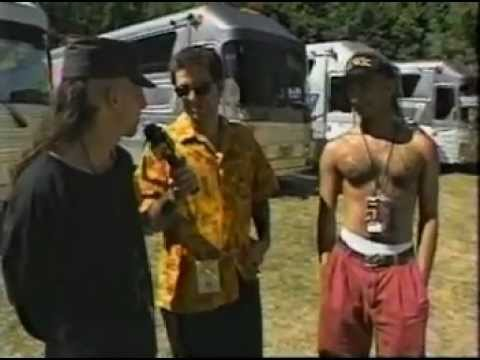 TooL-Lollapalooza 93 Interview with Maynard  Adam and Danny