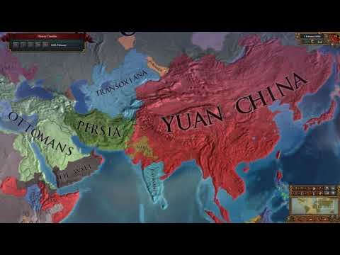 Mongolia into Yuan - Back in Control