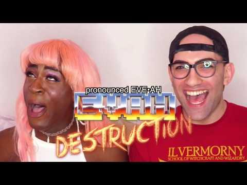 NEWLYFRIEND GAME with EVAH DESTRUCTION!