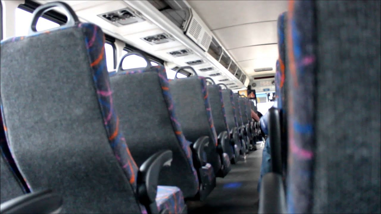 NJ TRANSIT Bus : On Board MCI D4500 #7468 on the 139 ( Through the Lincoln  Tunnel ) by Transit +PLUS
