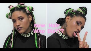 Box Braids Hairstyles| 4 different ways to style your box braids