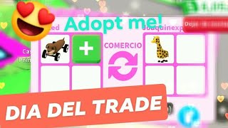 TRADE DAY PLAYING FROM CELULAR IN ADOPT ME ROBLOX!