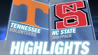 Tennessee vs NC State | 2014-15 ACC Men