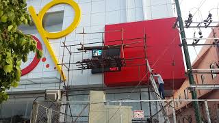 Video Wall Installation at SP PLAZA - Nellai Systems