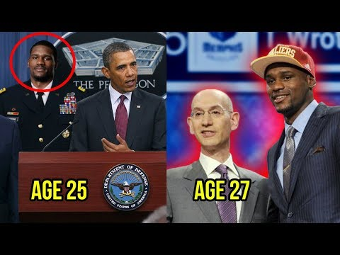 He Went From The US Military To The NBA Draft At 27 Years Old