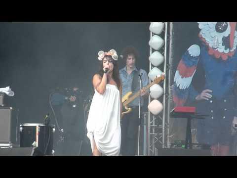 LILLY WOOD & THE PRICK : My best, live@Rock en Seine, Paris, 28 août 2011