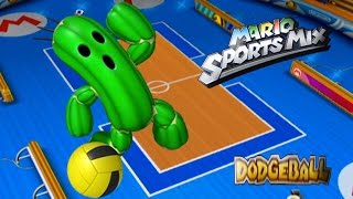 Mario Sports Mix Friend Game (Dodgeball) Double Takeout With Star