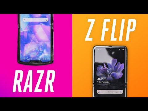 Galaxy Z Flip vs. Motorola Razr: no contest