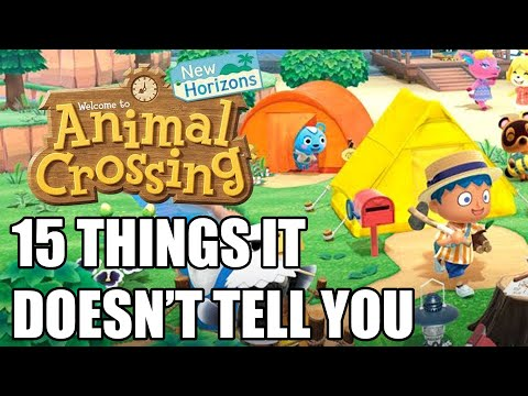 15 Beginners Tips And Tricks Animal Crossing: New Horizons Doesn't Tell You
